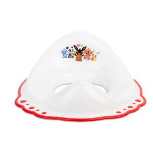 Maltex wc szűkítő csúszásgátlós Bing nyuszi fehér/piros