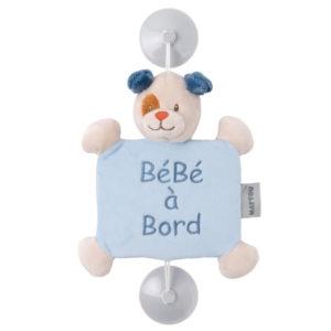 Nattou Baby on Board plüss Jim and Bob - Jim, a kutya
