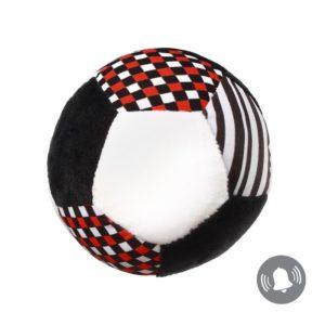 BabyOno játéklabda Contrast puha - C-MORE, érzékelésfejlesztő kollekció