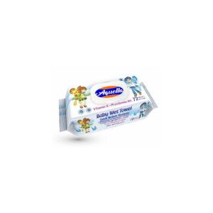 Aquella Baby nedves törlőkendő vitaminos fliptop 72db