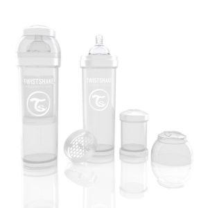 Twistshake Anti Colic cumisüveg 330ml fehér