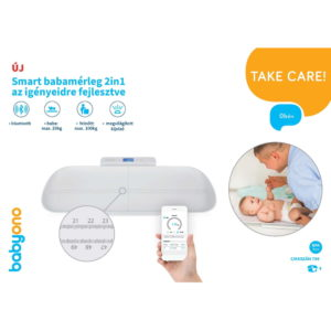 BabyOno babamérleg Smart digitális 2in1 bluetooth-os