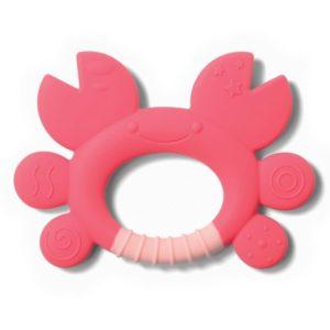 BabyOno rágóka Don rák szilikon rózsaszín