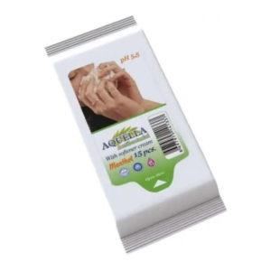 Aquella nedves törlőkendő Antibacterial Menthol 15 db
