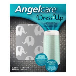 Angelcare pelenka tároló huzat Dress Up szürke elefántos
