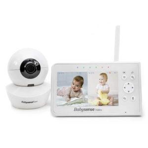 Babysense bébiőr kamerás