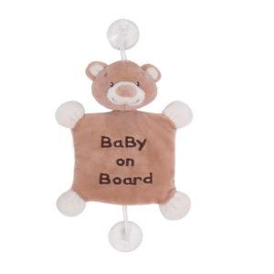 Kikkaboo Baby on Board plüss Bear Boo