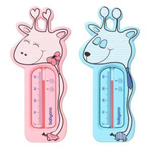 BabyOno vízhőmérő zsiráf rózsaszín/kék