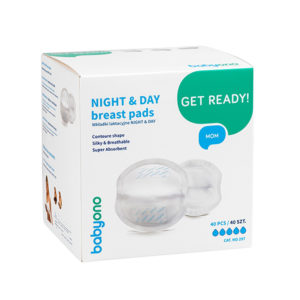 BabyOno melltartóbetét eldobható éjszakai és nappali 40 db