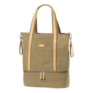 BabyOno pelenkázó táska SUPREME 44x43x16cm khaki