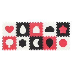 BabyOno szivacspuzzle szőnyeg formák 10db