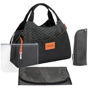 Badabulle pelenkázó táska MULTIPOCKET fekete
