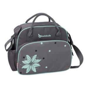 Badabulle pelenkázó táska szürke-kék