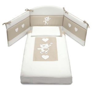 Cam ágynemű 3 részes (paplan, párnahuzat, fejvédő)