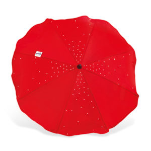 CAM napernyő Cristallino T002 piros