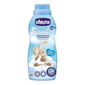 Chicco öblítő koncentrátum 750ml Sweet talcum púder kék