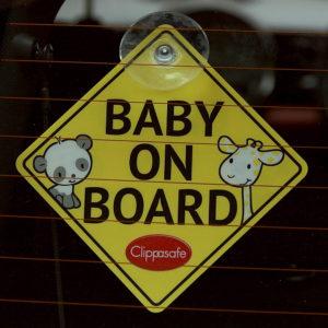 Clippasafe Baby/Child on Board tábla