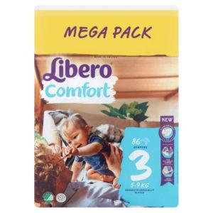 Libero Comfort 3 Mega Pack 5-9kg 86db