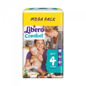 Libero Comfort 4 Mega Pack 7-11kg 82db
