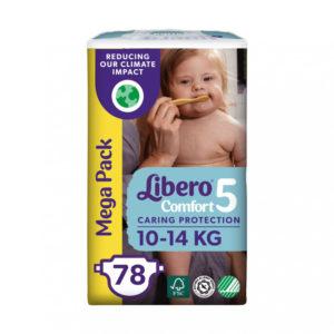 Libero Comfort 5 Mega Pack 10-14kg 78db