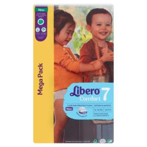 Libero Comfort 7 Mega Pack 16-26kg 64db