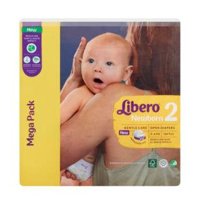 Libero Newborn 2 Mega Pack 3-6kg 108db
