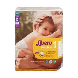 Libero Newborn 1 pelenka 2-5kg 78db új