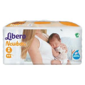 Libero Newborn 1 pelenka 2-5 kg 44db