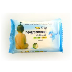 Neogranormon törlőkendő 10 db-os