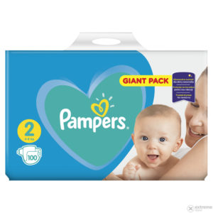 Pampers New Baby 2 Giant Pack pelenka 4-8kg 100db