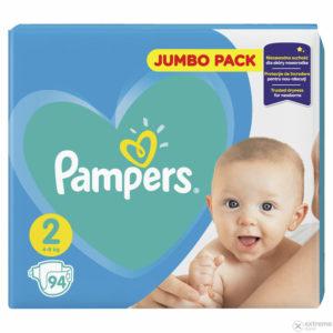 Pampers New Baby 2 Jumbo Pack pelenka 4-8kg 94db