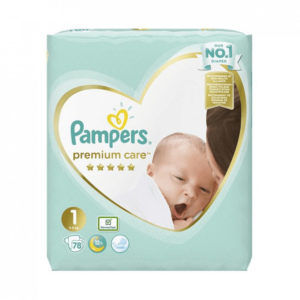 Pampers Premium Care 1 pelenka 2-5kg 78db