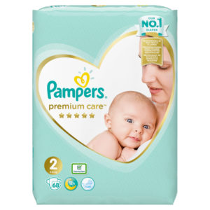 Pampers Premium Care 2 pelenka 4-8kg 68db