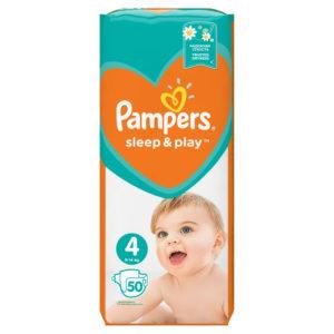 Pampers Sleep&Play 4 pelenka 9-14kg 50db