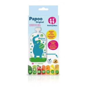 PM Papoo Original tasak bébiételekhez elefánt 6 db