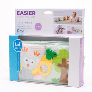 Taf Toys bébikönyv puha 3in1 Baby Book