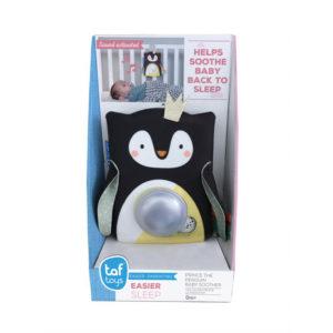 Taf Toys éjjeli fény Prince, the penguin zenélővel hangérzékelővel Prince, a pingvin
