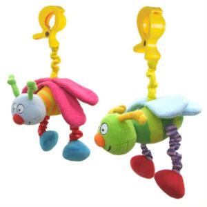 Taf Toys felhúzós rezgő Busy Pals csíptethető