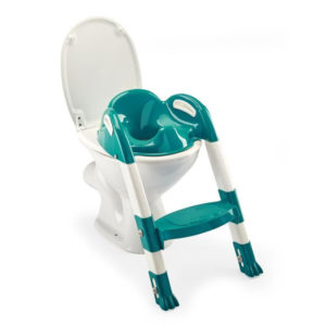 Thermobaby wc szűkítő lépcsős Kiddy Loo Emeraude zöld
