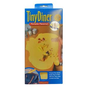 Tiny Diner alátét mosható műanyag sárga