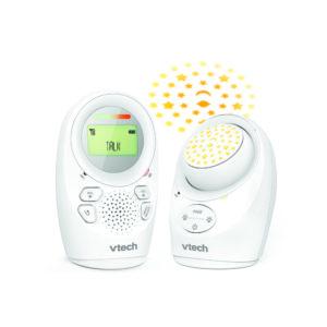 Vtech bébiőr audio kétirányú éjjeli fénnyel és projectorral