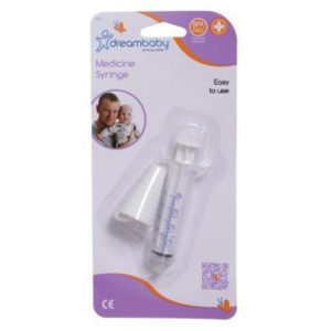 Dreambaby Gyógyszeradagoló fecskendő 5ml