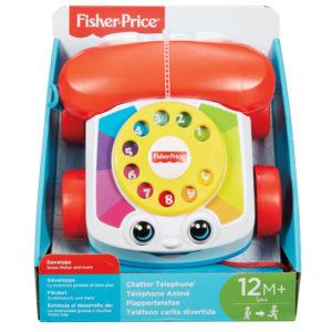 Fisher-Price fejlesztő játék fecsegő telefon FGW66