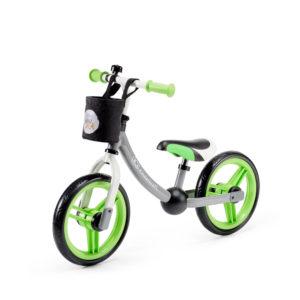 Kinderkraft futóbicikli 2Way Next szürke-zöld