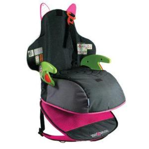 Trunki ülésmagasító és hátizsák egyben BoostApak pink