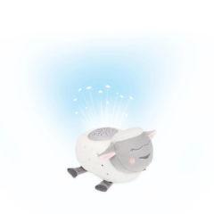 Badabulle éjjeli fény zenélő bárány