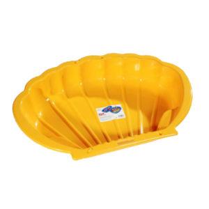 Dorex Kagylós homokozó medence sárga 2075