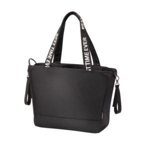 BabyOno pelenkázó táska Best Time Ever 45x30x16cm fekete