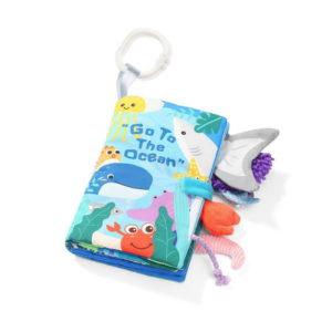 BabyOno játékkönyv GO TO THE OCEAN puha