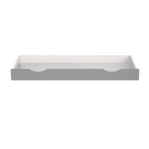 Faktum ágyneműtartó Alda Selyemszürke átalakítható 70x140cm kiságyhoz